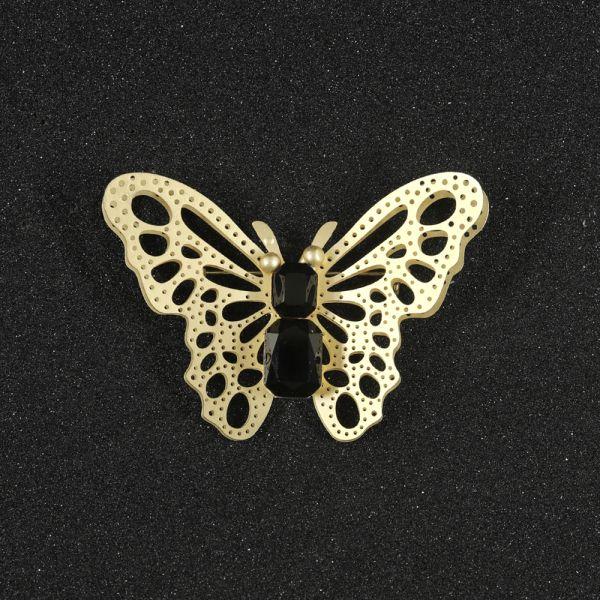 Fashion Butterfly Sapphire Brooch