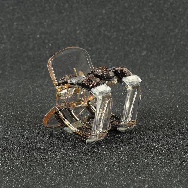 Black & Copper Hair Clutcher Claw Clips