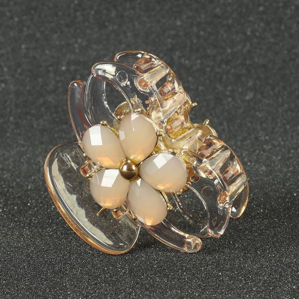 Gold Hair Clutcher Claw Clips