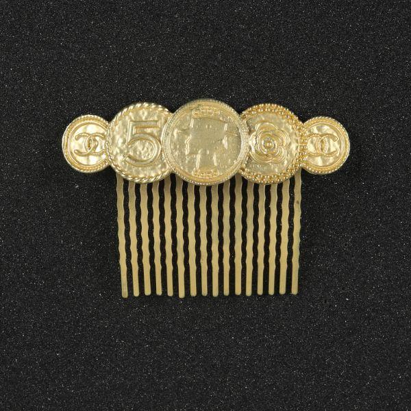 Golden Side Clip Hair Accessories