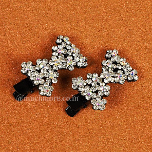 Cute Small Bow Style Side Pins