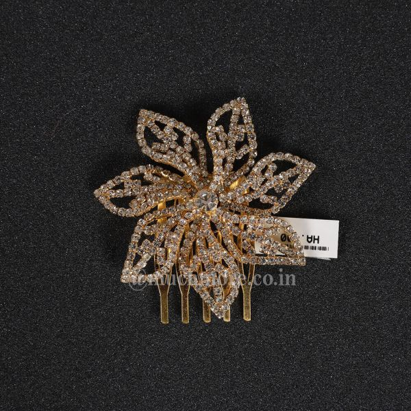 Small Flower Shaped Hair Comb