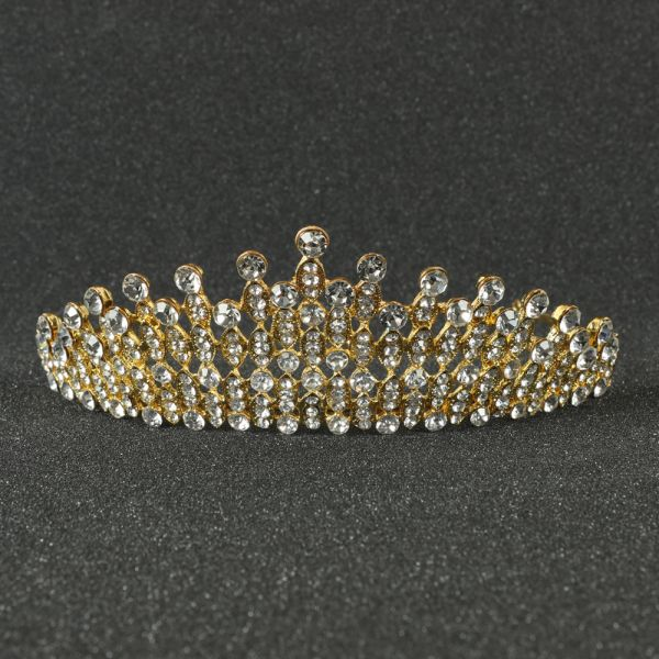 Gold Crown Hair Comb
