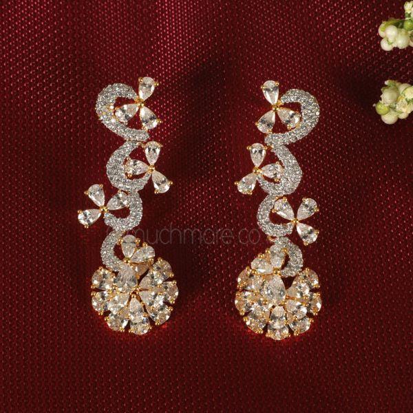 Designer Fashion Diamond Earring For Girls & Women