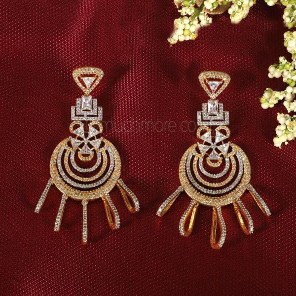 Shop For Designer Diamonds Earrings In India