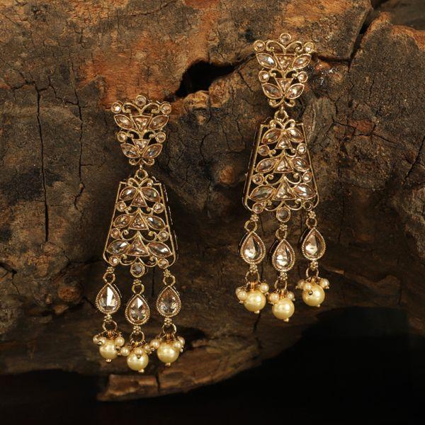 Antique Polki Earring