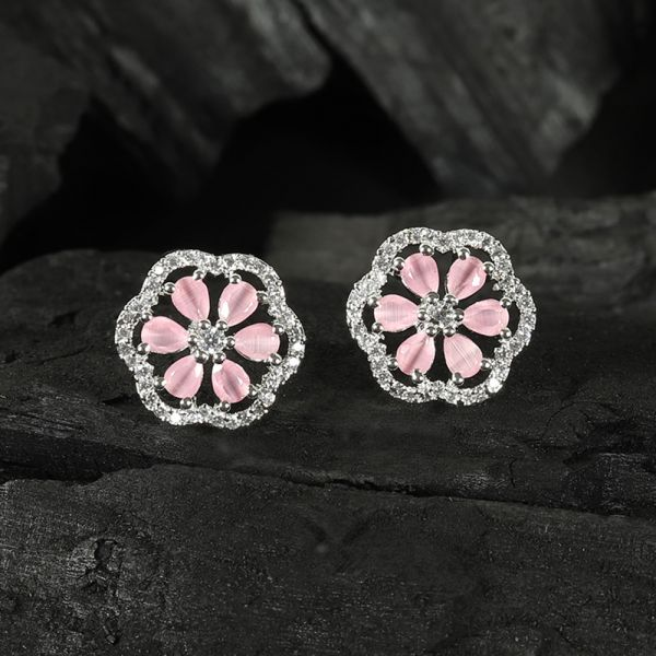 Baby Pink Tops Earring