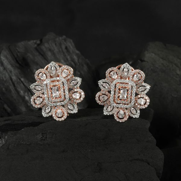 Rose Gold Women's Earring