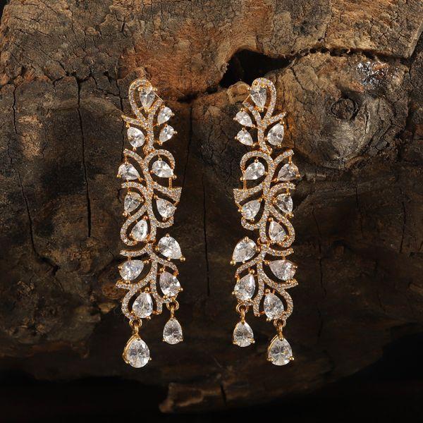 Trendy Diamond Earring