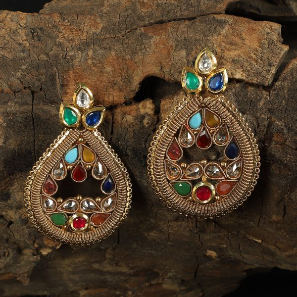 Navratna Antique Dangler