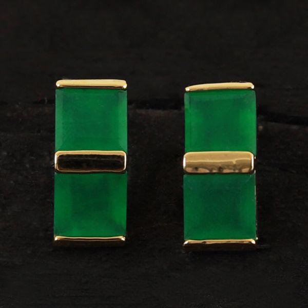 Women's Emerald Green Earrings