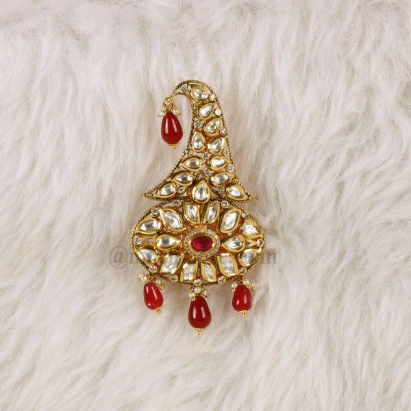 Designer Kalgi Brooch Sikh Dastar Kalangi Groom Wedding Accessories