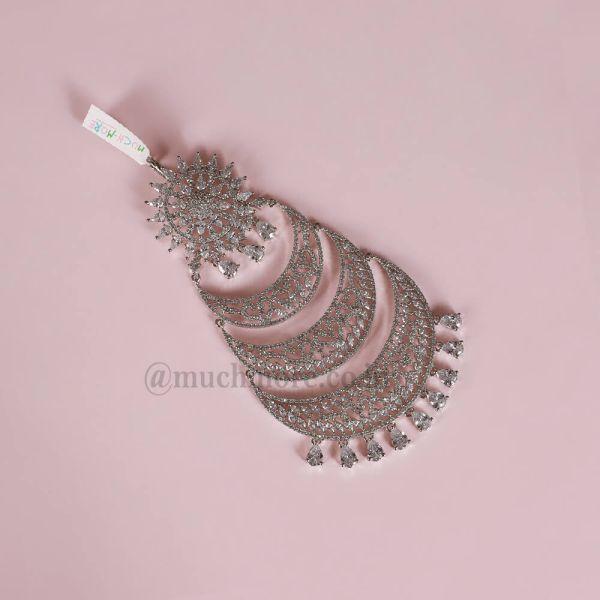 Traditional Ethnic & Diamond Passa White Tikka Jewellery