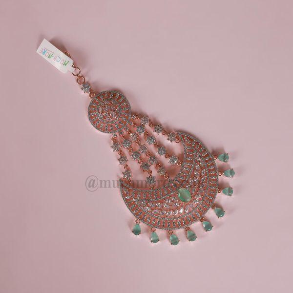 Rose Gold Plated Austrian Diamond Passa Online In India