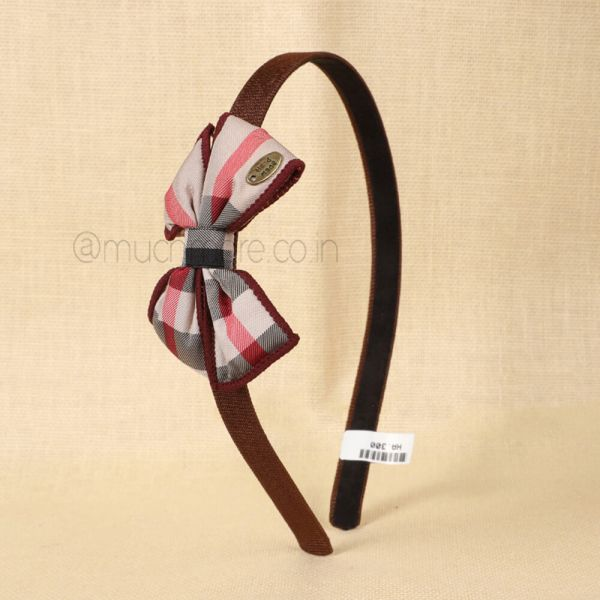 Bow Detail Headband By Much More