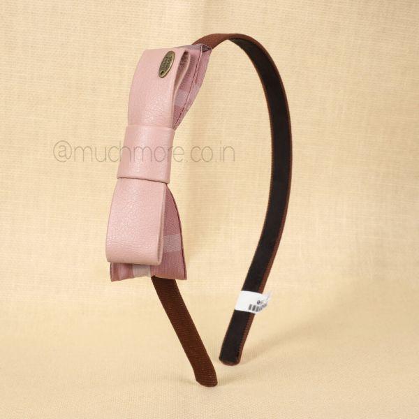 Brown Pink Hair Bands
