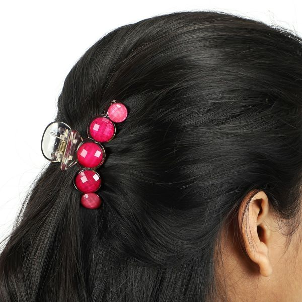 Pink Hair Clutcher Claw Clips