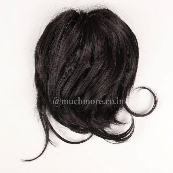 Clip-in Curly Hair Extension In Black Color