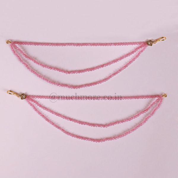 Beautiful Pair Of Three Layered kaan Chain