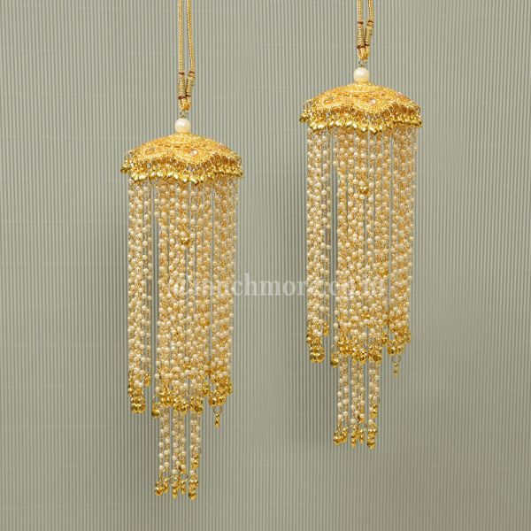Single Semi long Bridal kaleeras