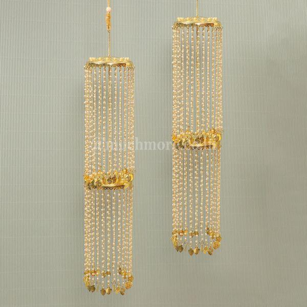 Simple Double Layer Golden Kaleeras