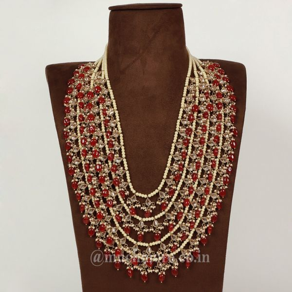 Timeless Traditional Intricate charlada Rani Haar For Bride