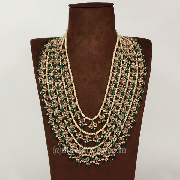 Multi-layered Necklace Haram For Wedding