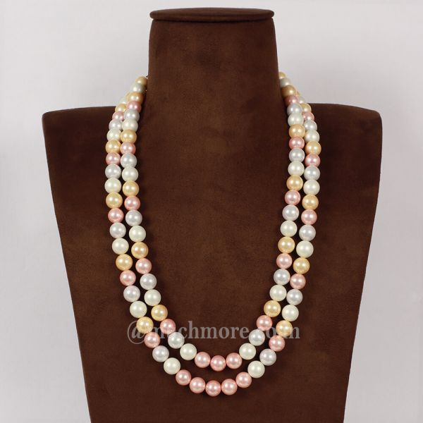 Pearl Moti Big Beads Mala For Men And Women