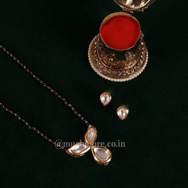 Buy Traditional Kundan Mangalsutra Online