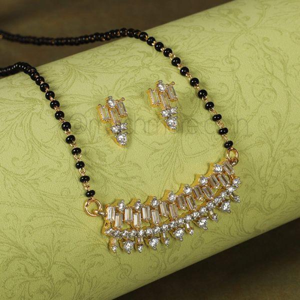 Latest Diamond Mangalsutra Design Online In India