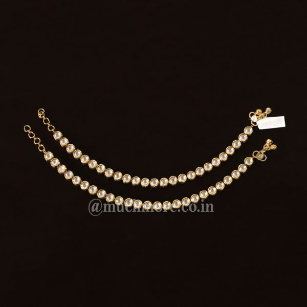 Shop Exclusive Designs Of Indian Anklets For Girls As Well As Women