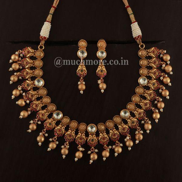 Light Weight Stylish Beads Jewellery Set