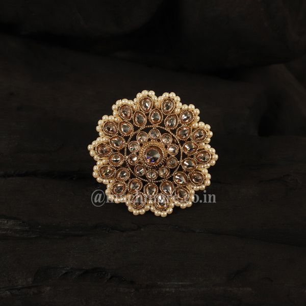 Beautiful Antique Gold Ring For Female