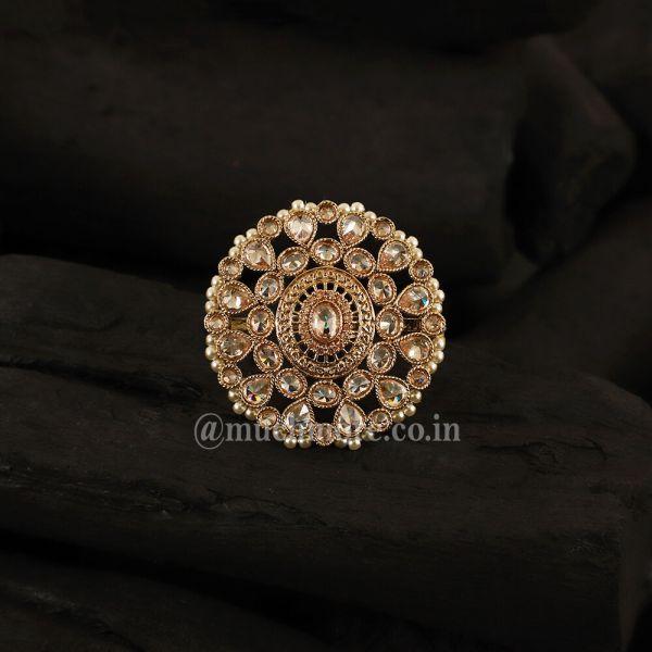 Ethnic look Wedding Ring For Bride