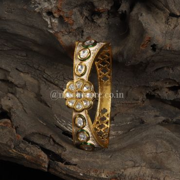 Indian Traditional Kundan Bracelet