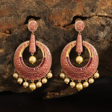 Diamond Ruby Earring