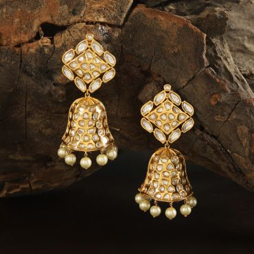 Uncut Kundan Earring