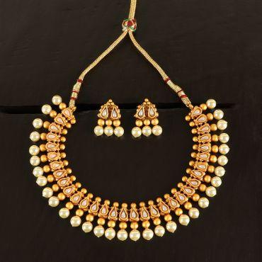 Pearl Antique Necklace Set