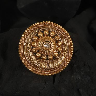 Traditional Gold Polish Ring